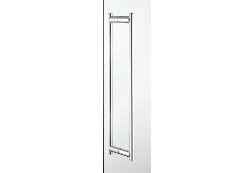 Double Glass Door Handle Hotel Extra Glass